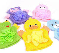 Варежка-мочалка для детей