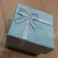 Коробочка подарочная голубая, фото 1
