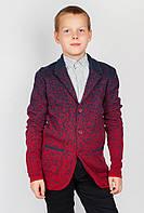 Пиджак мужской двухцветный 267F008 junior (Сине-красный)