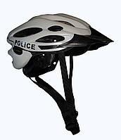 Велосипедный шлем, белый. Police Великобритании, оригинал.