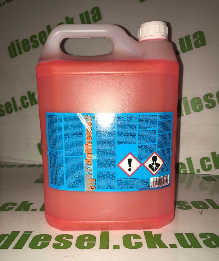 Антифриз-концентрат красный XT Antifreeze D 5L G12/G12+