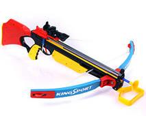 Арбалет со стрелами, на присосках и с лазером, фото 3