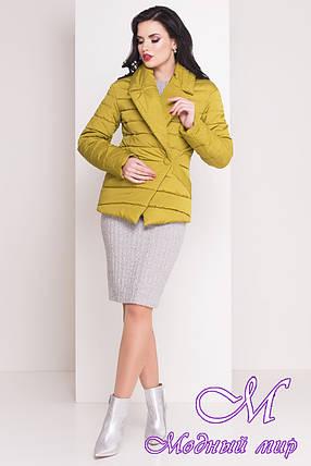 """Женская демисезонная куртка-жакет (р. XS, S, M, L) арт. Мириам """"4483"""" - 21437, фото 2"""