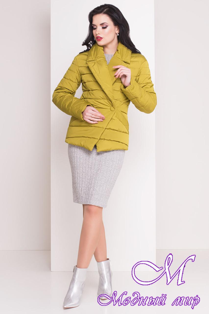 """Женская демисезонная куртка-жакет (р. XS, S, M, L) арт. Мириам """"4483"""" - 21437"""