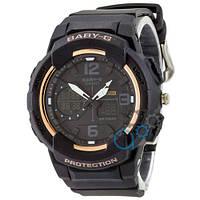 Часы Casio Baby G BGA-230 G Black-Gold