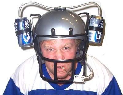 Шлем любителя пива Амереканский Футбол