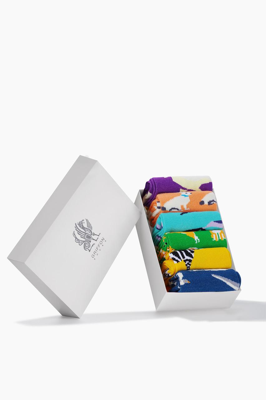 Дитячі шкарпетки Four-legged friends Box for kids 6 пар у наборі