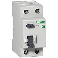 УЗО 63A 100мА 4,5кА тип A 2 полюса EZ9R74263 Easy9 Schneider Electric, гарантия от производителя 12 месяцев