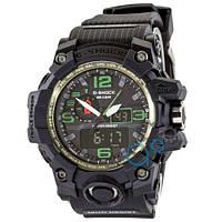 Часы Casio G-Shock GWG-1000 Black-Green