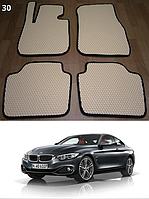 Коврики на BMW 4 F32/F33/F36 '14-н.в. Автоковрики EVA