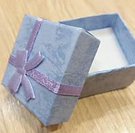 Коробочка подарочная сиреневая