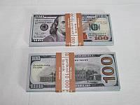 Сувенирные 100 Долларов новые