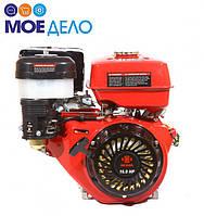 Двигатель бензиновый WEIMA WM190F-S2Р 16 л.с. (25 мм, шпонка,шкив на 2 ручья 76 мм)