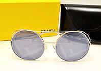 Женские солнцезащитные очки Fendi RAN AWAY FF00285/S (Серебро) , фото 1
