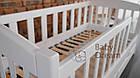 Подростковая кровать от 3 лет с бортиками Ассоль 160*70 см, фото 4