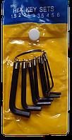 Ключі шестигранні 8 шт (брелок)