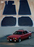 Коврики на BMW 5 E34 '88-96. Автоковрики EVA