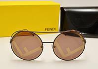 Женские солнцезащитные очки Fendi RAN AWAY FF00285/S (Шоколад) , фото 1
