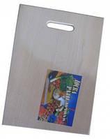 Доска разделочная деревянная/дощечка кухонная из дерева/досточка для нарезки /36х26,5 см