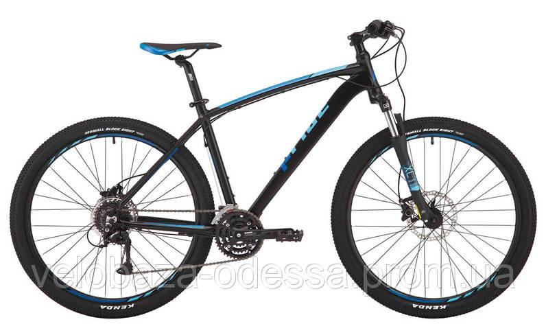 """Велосипед 27,5"""" Pride Rebel 7.3 рама - 21"""" черный/голубой/красный 2017, фото 2"""