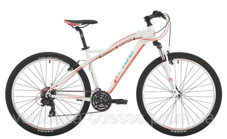"""Велосипед 27,5"""" Pride Roxy 7.1 рама - 16"""" белый/коралловый/бирюзовый 2017, фото 2"""