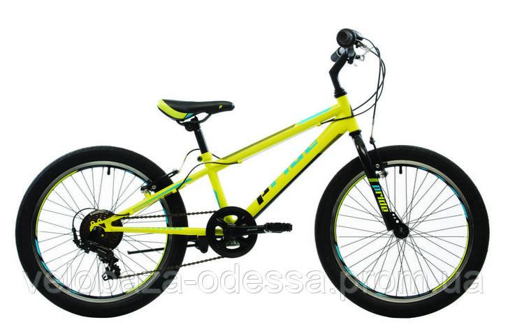 """Велосипед 20"""" Pride Jack 6 лайм/голубой/черный 2018, фото 2"""