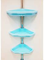 Полка в ванную Prima Nova голубая