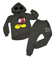 """Утепленный костюм для мальчиков """"Микки Маус"""", фото 1"""