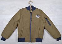 """Куртка-ветровка детская """"Chantion"""" для мальчиков. 6-11 лет (116-146 см). Оливковая. Оптом., фото 1"""