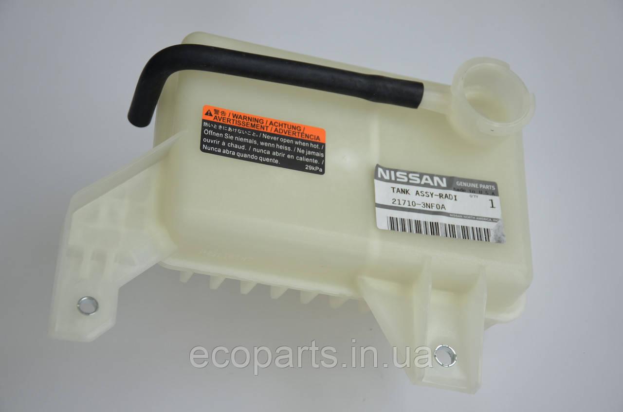 Расширительный бачок радиатора охлаждения Nissan Leaf