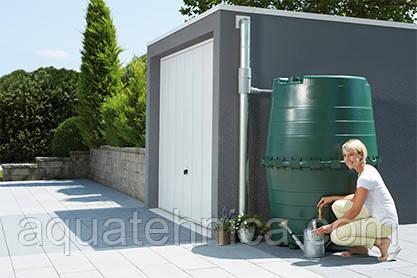 Ёмкость декоративная Graf 1300 литров для сбора дождевой воды