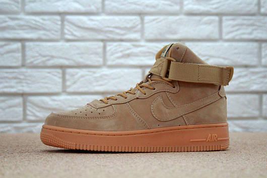 Кроссовки мужские Nike Air Force 1 High, найк аир форс, реплика