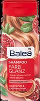 Женский Шампунь для окрашенных волос Balea Farb Glanz (гранат) 300 ml