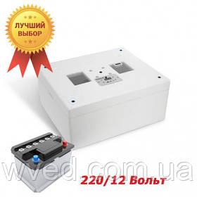 Автоматический инкубатор Несушка М (Экспорт) на 76 яиц 220В/12В