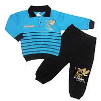 Костюм для мальчика 86-98(1,5-4года) кофта +штаны, арт.5104