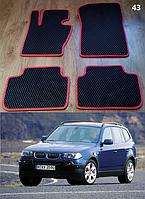 Коврики на BMW X3 E83 '03-09. Автоковрики EVA