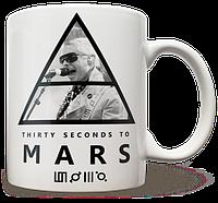Чашка, Кружка 30 Seconds to Mars, №2
