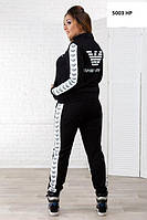 Женский спортивный костюм Armani батал (3 цвета в наличии)