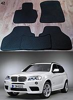 Коврики на BMW X3 F25 '10-17. Автоковрики EVA
