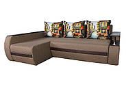Угловой диван Garnitur.plus Граф бежевый 245 см