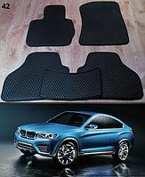 Коврики на BMW X4 F26 '14-18. Автоковрики EVA, фото 1