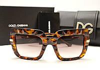 Женские солнцезащитные очки D&G 6111 лео