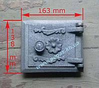 Дверка прочистная сажетруска чугунная (110х130 мм), фото 1