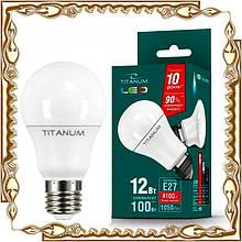 Лампочка світлодіодна TITANUM A60 12W E27 4100K 220V