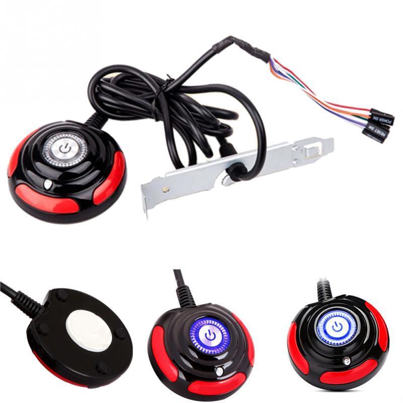 Выносная кнопка питания компьютера 160см, Power SW Reset Power LED