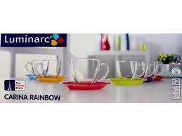Сервиз чайный Luminarc Carina Rainbow 220 мл J5978, фото 2