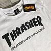 Thrasher Футболка женская | Оригинальные фото бирки | Белый трешер, фото 2