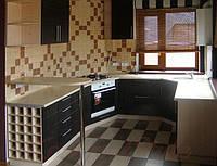Кухня с плёночными фасадами №19