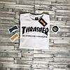 Thrasher Футболка женская | Оригинальные фото бирки | Белый трешер, фото 4