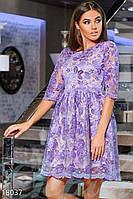 Блестящее красивое платье